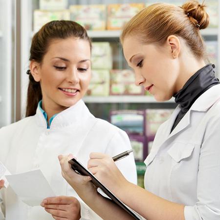 Atendente na Área da Saúde e Farmácia