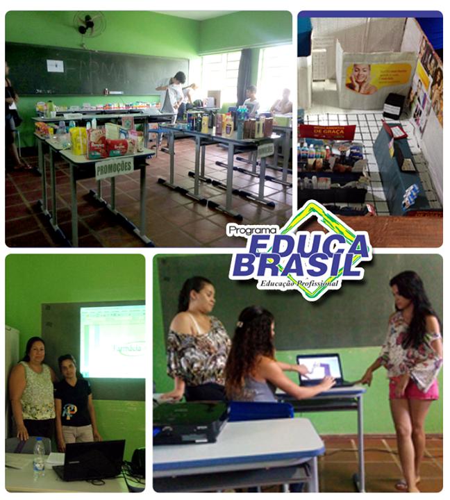 Atividades da turma do Curso de Atendente na Área da Saúde e Farmácia | São Borja/RS