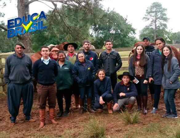 Visita Técnica | Turma do Curso de Assistente Veterinário | Rosário do Sul/RS