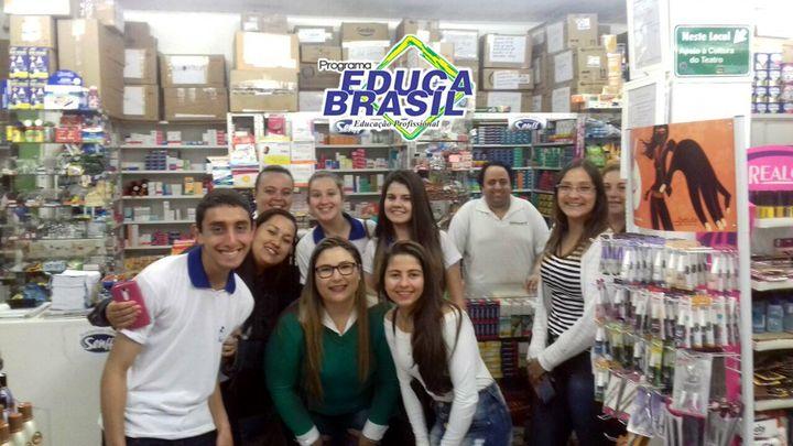 Visita Técnica | Turma do Curso de Atendente na Área da Saúde e Farmácia | Rosário do Sul/RS