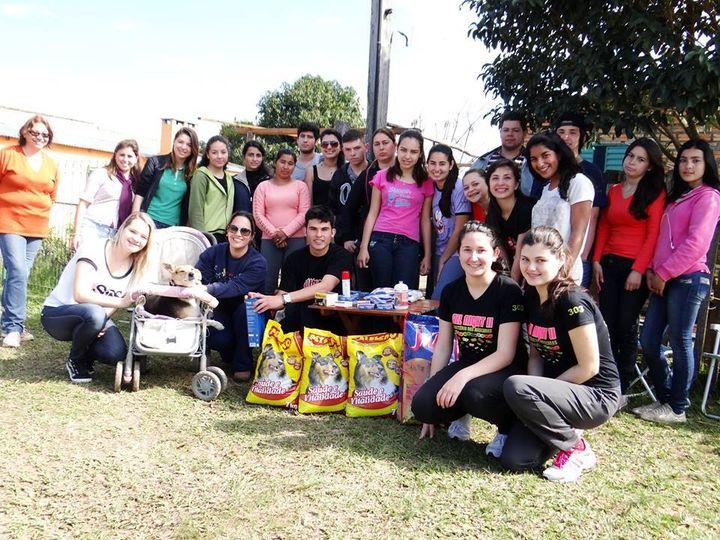 Ação Social | Alunos do Curso de Assistente Veterinário | Rosário do Sul