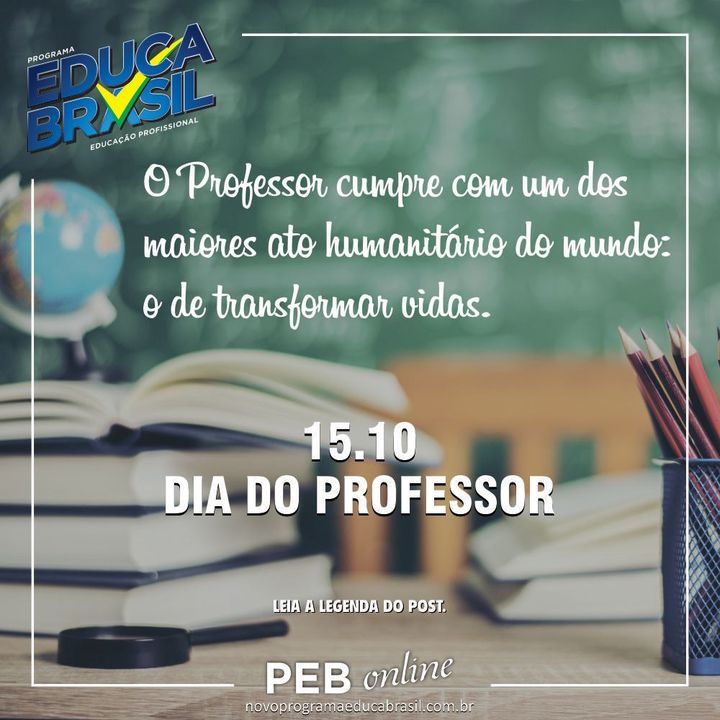 Dia do Professor | 15.10