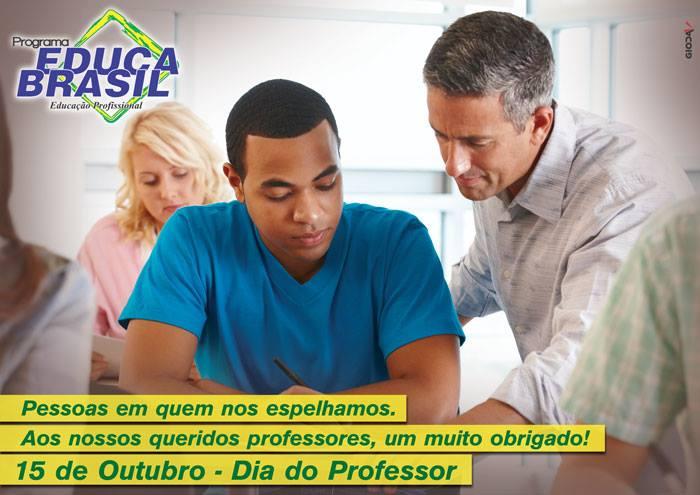 O Programa Educa Brasil parabeniza a tod