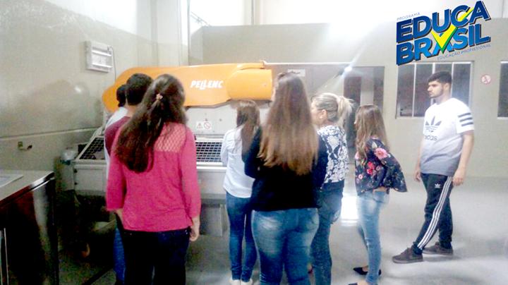 Visita Técnica | Turma do Curso de Administração do Agronegócio | Alegrete/RS