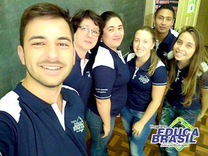 Turma do curso de Operações Comerciais e Administrativas | Ijuí/RS