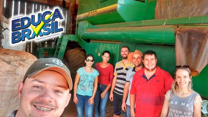 Ijuí/RS | Visita Técnica de Auxiliar Agrônomo