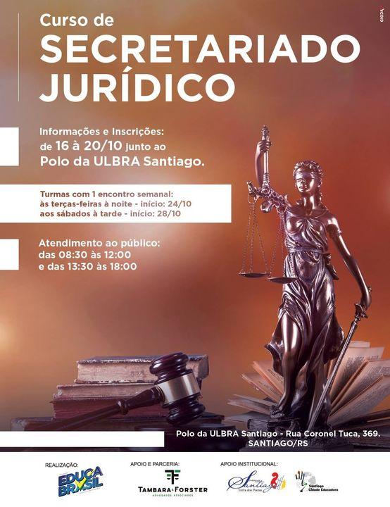 Santiago/RS - Curso de Secretariado Jurídico