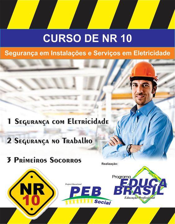 CURSO DE NR 10 Santiago/RS Informações