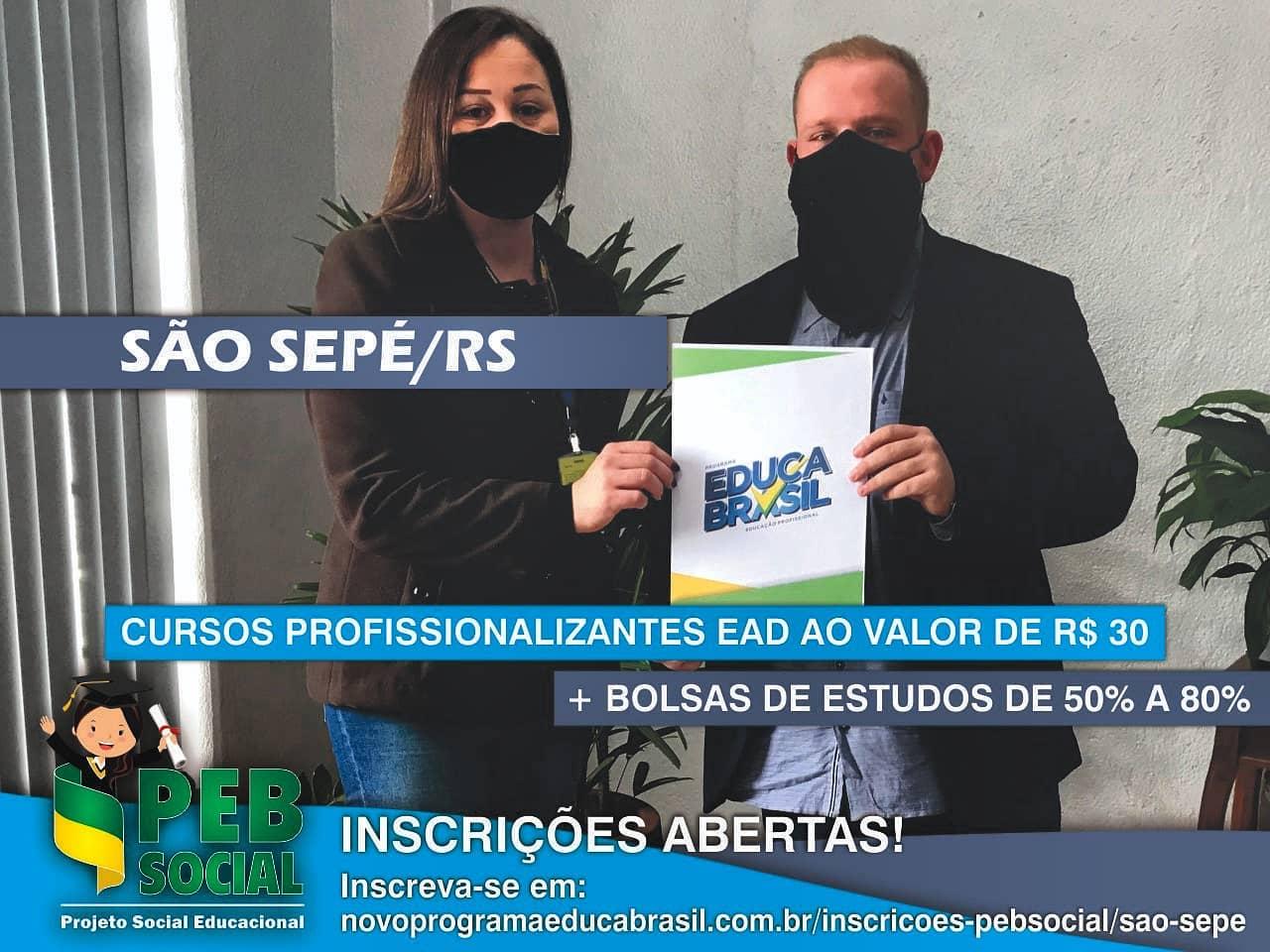 Qualificação Profissional EAD 2021 | PEB Social | São Sepé/RS