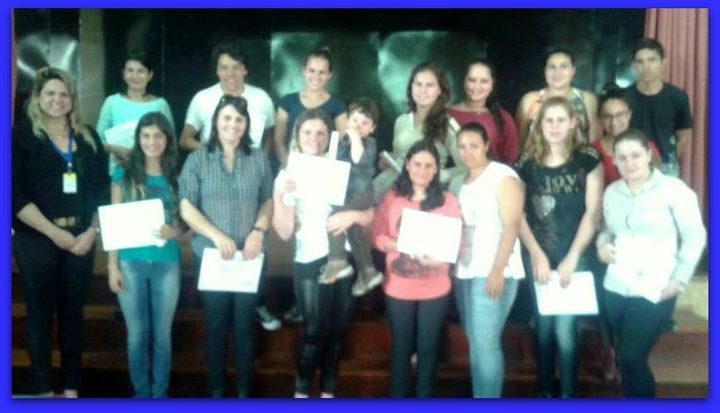 Final de Curso | Curso de Atendente na Área de Saúde e Farmácia | Jaguari/RS