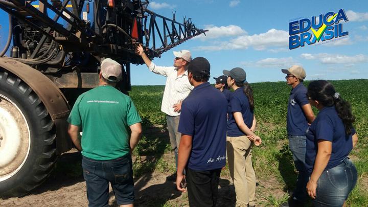 Visita Técnica | Alunos da Turma do Curso de Auxiliar Agrônomo | Rosário do Sul/RS
