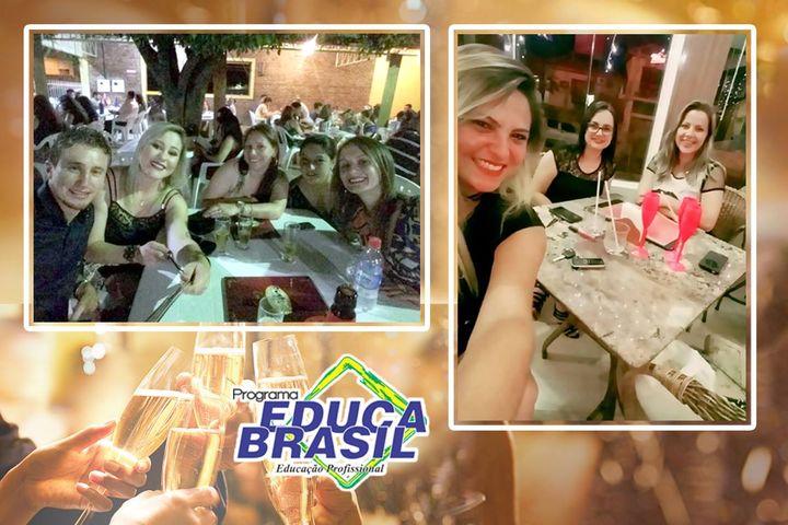Confraternização equipe Programa EDUCA