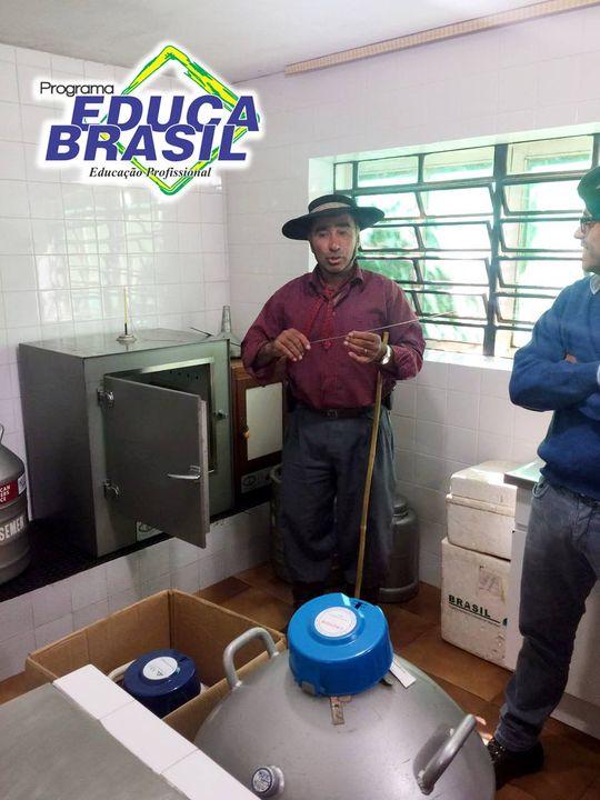 Visita Técnica | Turma do Curso de Administração do Agronegócio | Rosário do Sul/RS