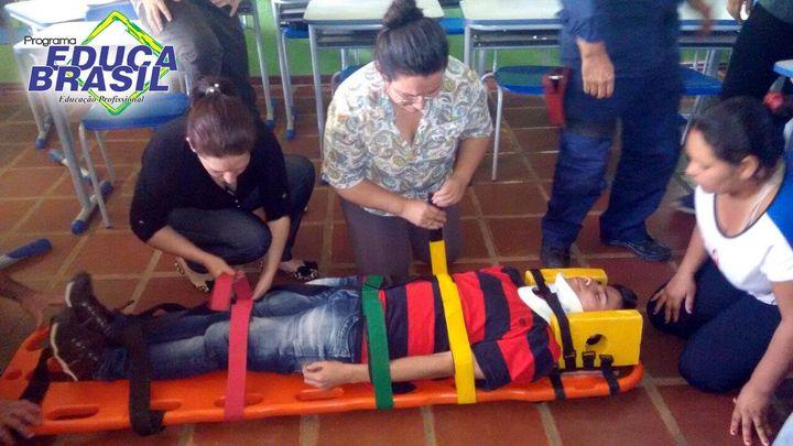 Palestra com Atividade | Curso de Atendente na Área de Saúde e Farmácia | São Borja/RS