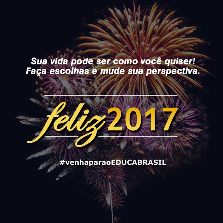 Feliz 2017! #venhaparaoEDUCABRASIL