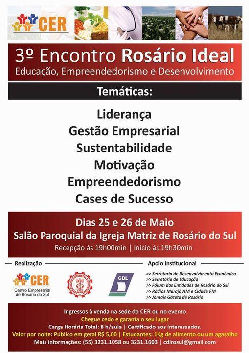 Convite aos alunos do PEB de Rosário do