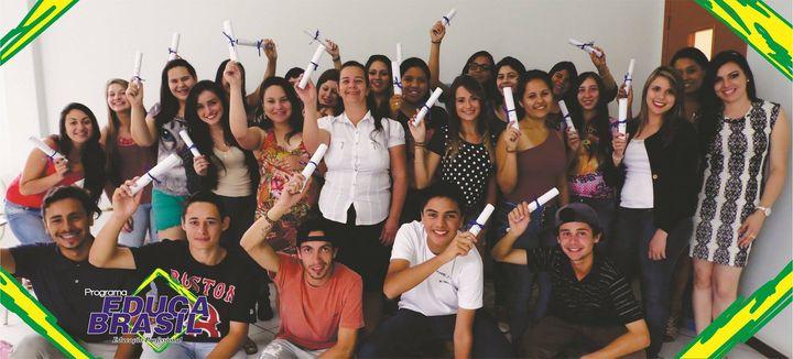 Final de curso | Curso de Capacitação Comercial Administrativa | Santiago/RS