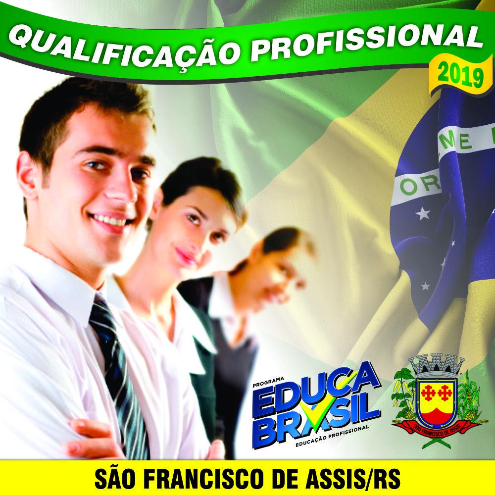 São Francisco de Assis/RS - Cursos de Qualificação Profissional com valores a partir de R$ 30