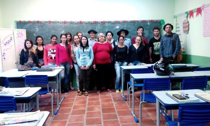Turma do Curso de Assistente Veterinário | Dom Pedrito/RS