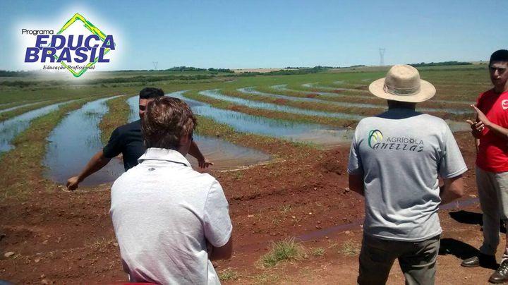 Visita Técnica | Curso de Auxiliar Agrônomo | São Borja/RS