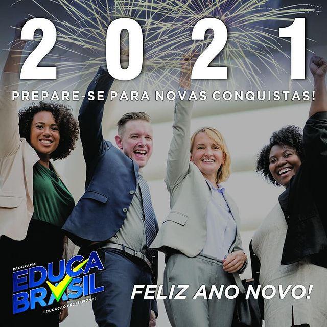 Feliz Ano Novo! | 2021