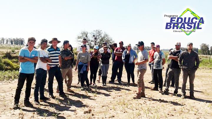 Dia de Campo | Auxiliar Agrônomo | Itaqui/RS