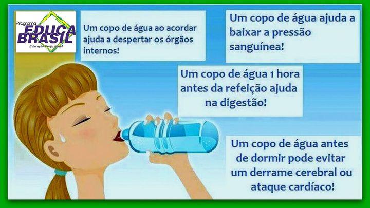 Dicas de Verão! Os benefícios da água
