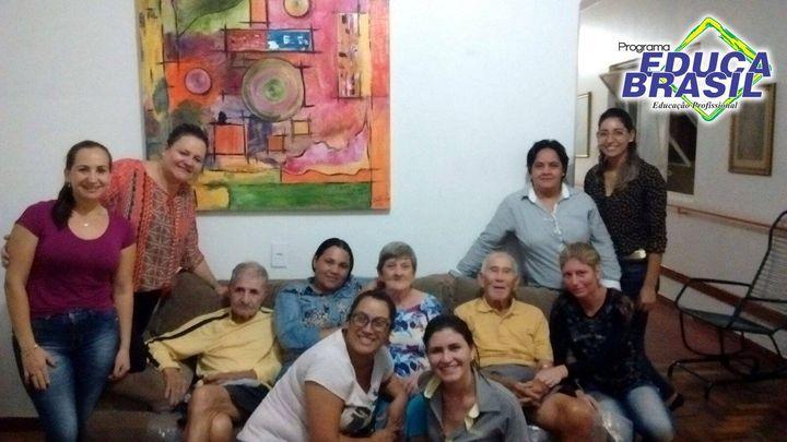 Ação Social | Turma do Curso de Coleta de Sangue e Materiais Biológicos | São Borja/RS