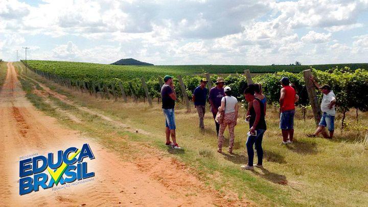 Visitação Técnica | Curso de Auxiliar Agrônomo | Santana do Livramento/RS