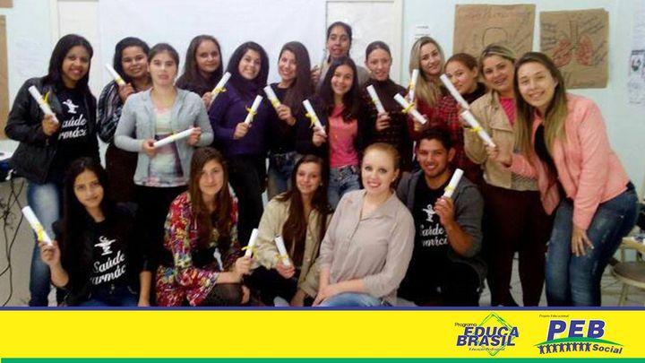 Final de Curso | Curso de Atendente na Área de Saúde e Farmácia | Santiago/RS
