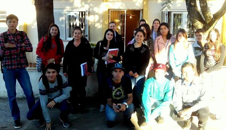 Ação Social | Turma do Curso de Capacitação Comercial Administrativa | Santiago/RS