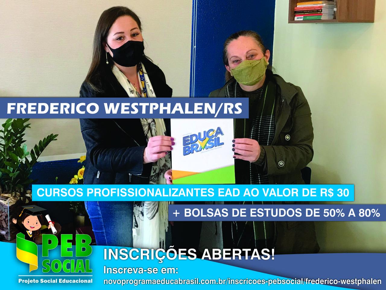 Qualificação Profissional EaD 2021 | PEB Social | Frederico Westphalen/RS