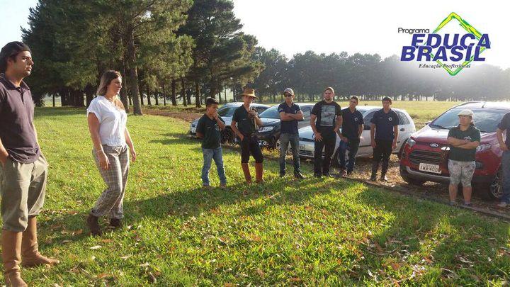Visitação Técnica | Administração do Agronegócio e Auxiliar Agrônomo | Rosário do Sul/RS